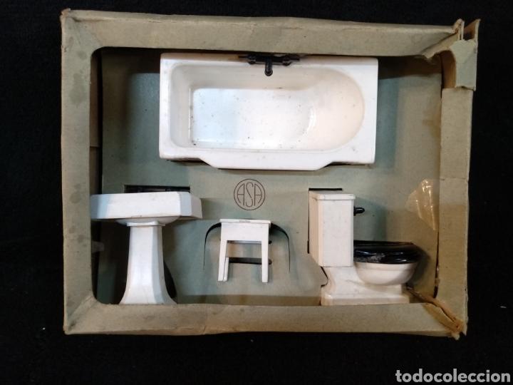 Casas de Muñecas: Antiguo lavabo para casa de muñecas marca ASA - Foto 2 - 227068619