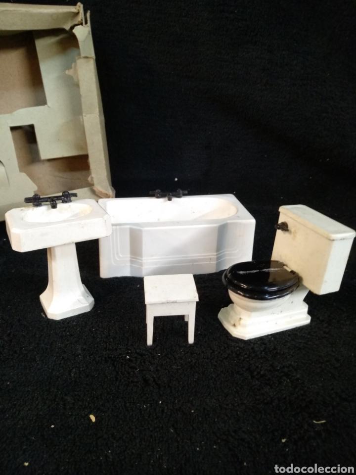 Casas de Muñecas: Antiguo lavabo para casa de muñecas marca ASA - Foto 4 - 227068619