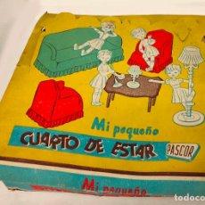 Casas de Muñecas: CUARTO DE ESTAR PASCOR AÑOS 60.. Lote 227224200