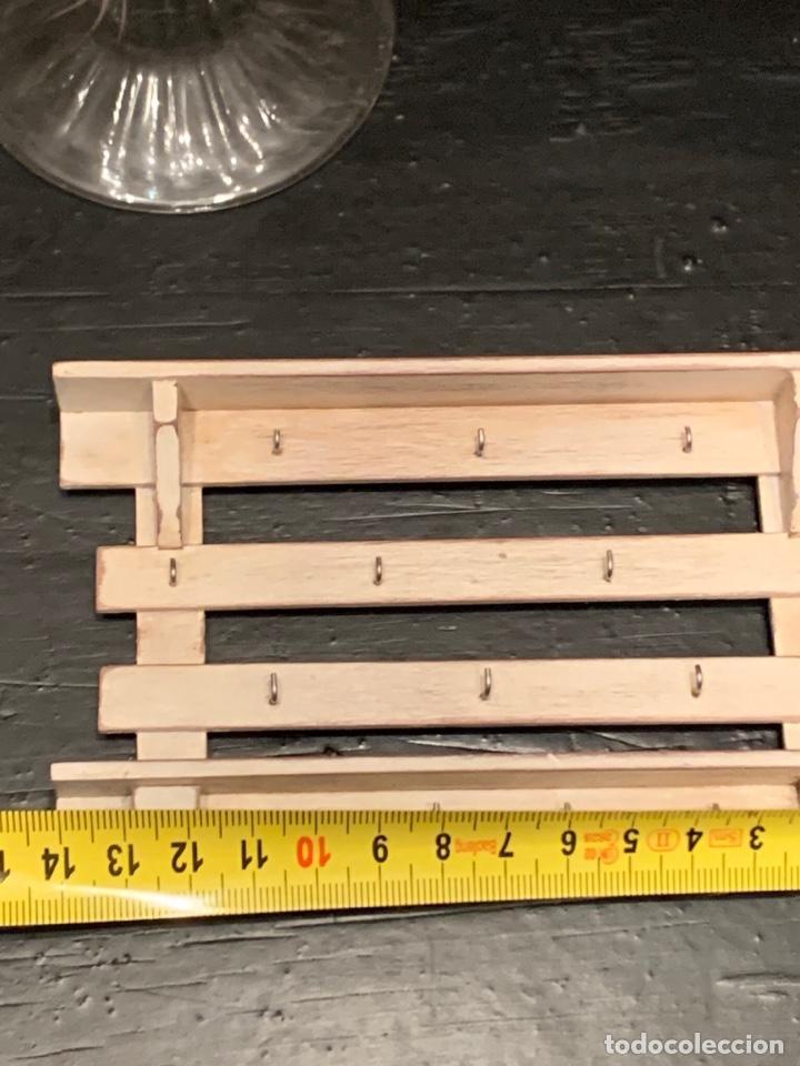 Casas de Muñecas: Mueble en madera estilo shabby chic para cocina de casa de muñecas. Miniatura - Foto 4 - 232550835