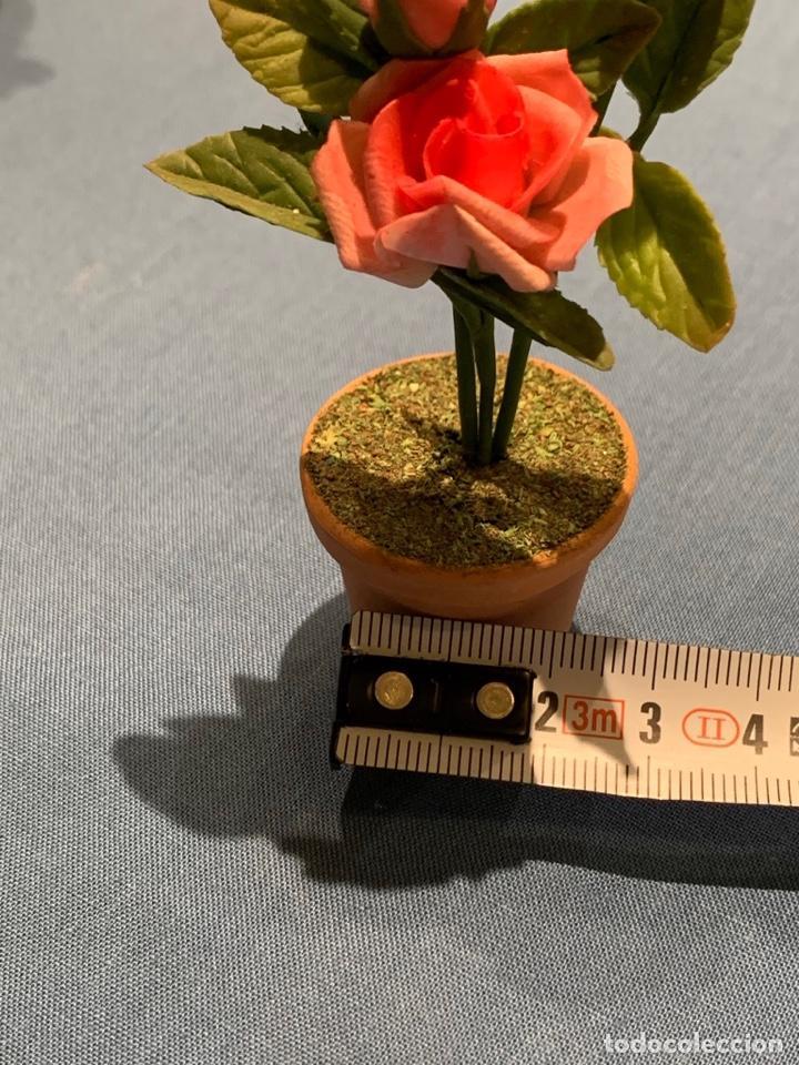 Casas de Muñecas: Hermoso Rosal en miniatura, Flor casa de muñecas o jardín de hadas. Blythe. - Foto 6 - 233587590
