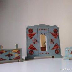 Casas de Bonecas: ARMARIO TOCADOR MESITA ESTILO DÉCO DENIA JUGUETE. Lote 235238780