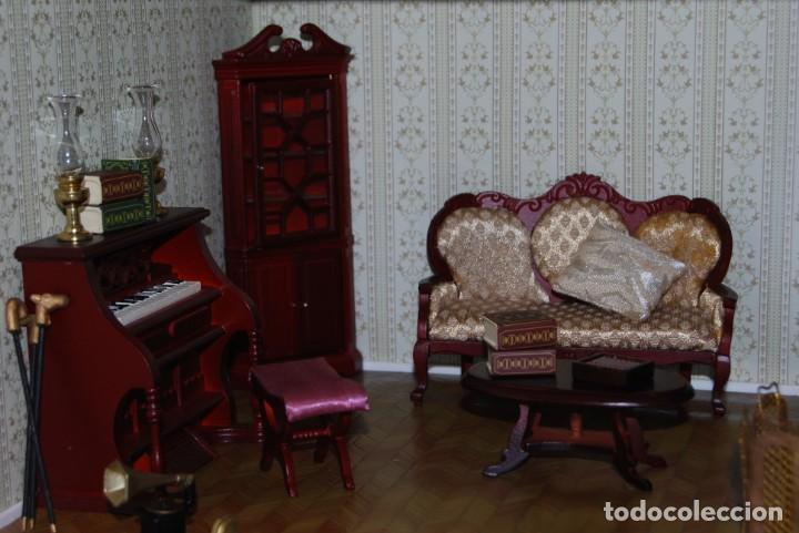 Casas de Muñecas: PRECIOSA CASA DE MUÑECAS - CON COMPLEMETOS - Foto 10 - 237636525