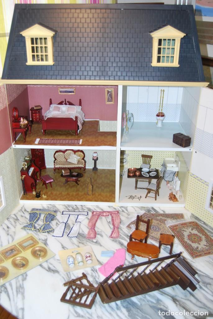 Casas de Muñecas: PRECIOSA CASA DE MUÑECAS - CON COMPLEMETOS - Foto 16 - 237636525