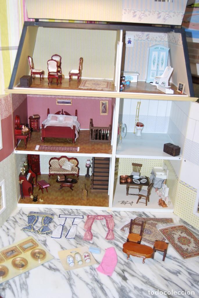 Casas de Muñecas: PRECIOSA CASA DE MUÑECAS - CON COMPLEMETOS - Foto 30 - 237636525