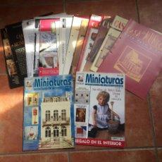 Casas de Muñecas: LOTE DE REVISTAS CASAS DE MUÑECAS. Lote 239536145