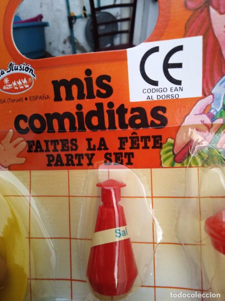 Casas de Muñecas: blister comiditas la ilusion huevera huevos .etc nuevo sin uso - Foto 4 - 271381113