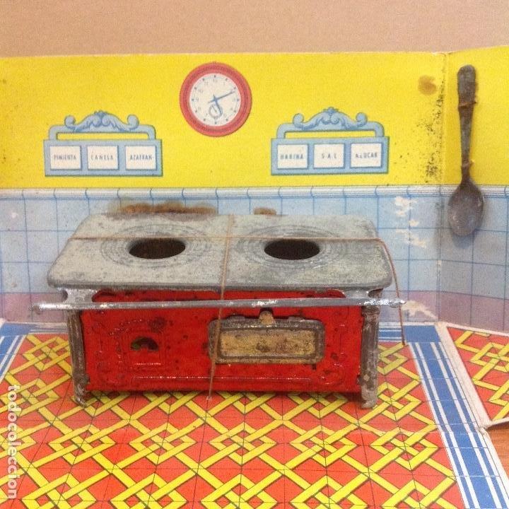 Casas de Muñecas: Cocina y complementos en su caja abatible - Foto 2 - 243867660
