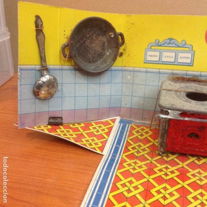 Casas de Muñecas: Cocina y complementos en su caja abatible - Foto 3 - 243867660