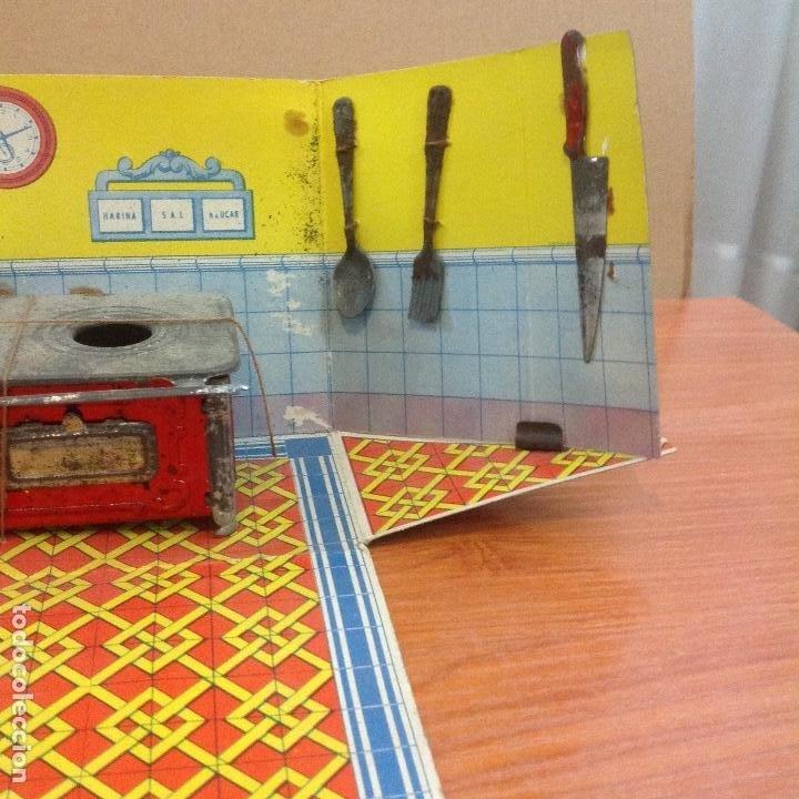 Casas de Muñecas: Cocina y complementos en su caja abatible - Foto 4 - 243867660