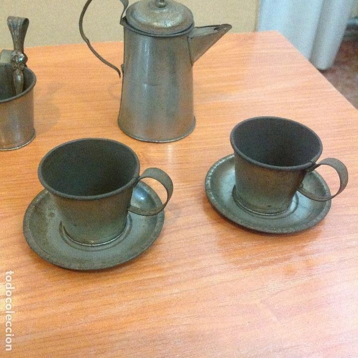 Casas de Muñecas: Juego completo de 4 servicios de cafe - Foto 3 - 243869580