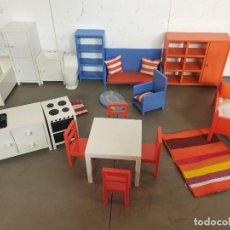 Casas de Muñecas: GRAN LOTE MOBILIARIO PARA CASA DE MUÑECAS DE IKEA. Lote 249594790