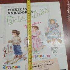 Casas de Muñecas: PUBLICIDAD DE MUÑECAS DE ONIL ALICANTE.. Lote 252338215