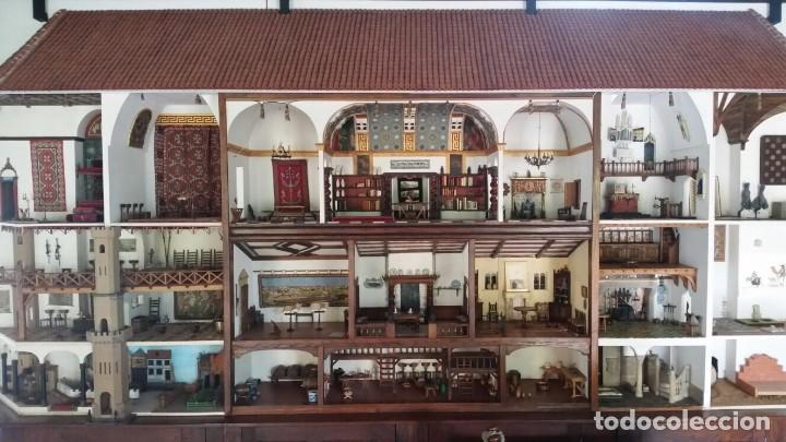 CASA DE MINIATURAS ESTILO RENACENTISTA (Juguetes - Casas de Muñecas, mobiliarios y complementos)