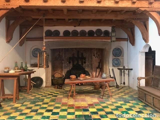 Casas de Muñecas: CASA DE MINIATURAS ESTILO RENACENTISTA - Foto 5 - 254268685