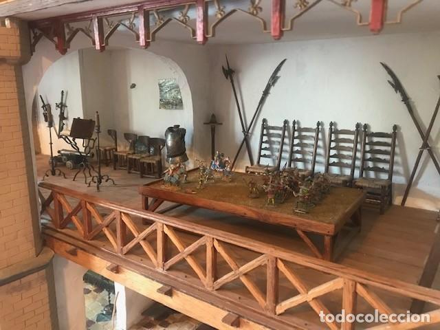 Casas de Muñecas: CASA DE MINIATURAS ESTILO RENACENTISTA - Foto 17 - 254268685