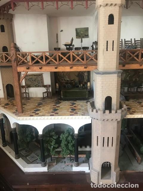 Casas de Muñecas: CASA DE MINIATURAS ESTILO RENACENTISTA - Foto 23 - 254268685