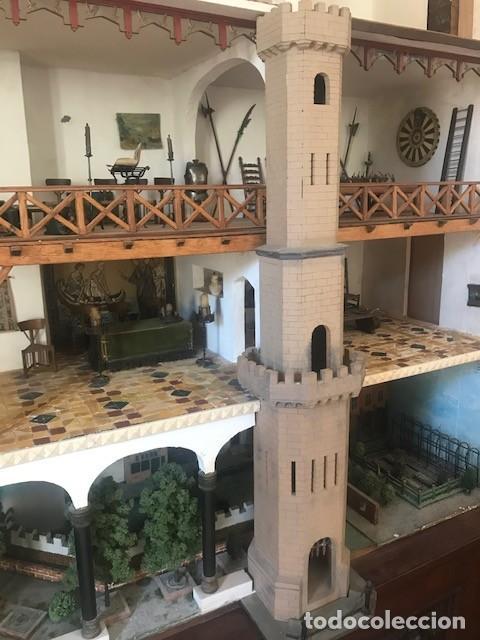 Casas de Muñecas: CASA DE MINIATURAS ESTILO RENACENTISTA - Foto 24 - 254268685