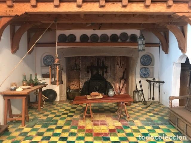 Casas de Muñecas: CASA DE MINIATURAS ESTILO RENACENTISTA - Foto 31 - 254268685