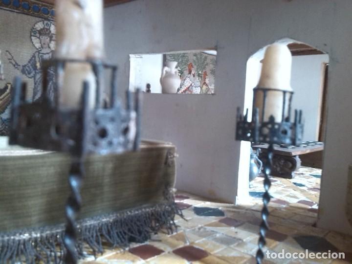 Casas de Muñecas: CASA DE MINIATURAS ESTILO RENACENTISTA - Foto 44 - 254268685