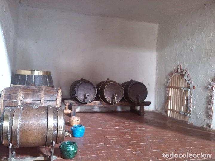 Casas de Muñecas: CASA DE MINIATURAS ESTILO RENACENTISTA - Foto 45 - 254268685