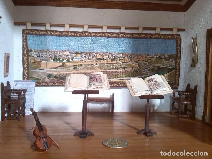 Casas de Muñecas: CASA DE MINIATURAS ESTILO RENACENTISTA - Foto 46 - 254268685