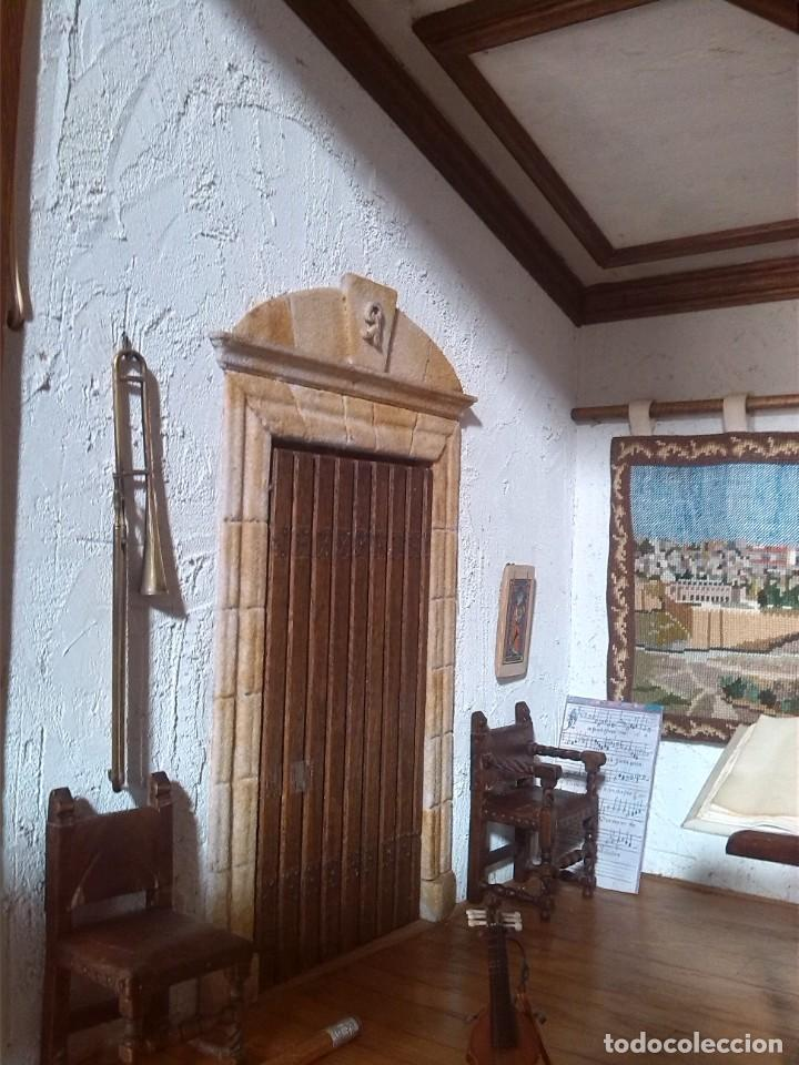 Casas de Muñecas: CASA DE MINIATURAS ESTILO RENACENTISTA - Foto 47 - 254268685