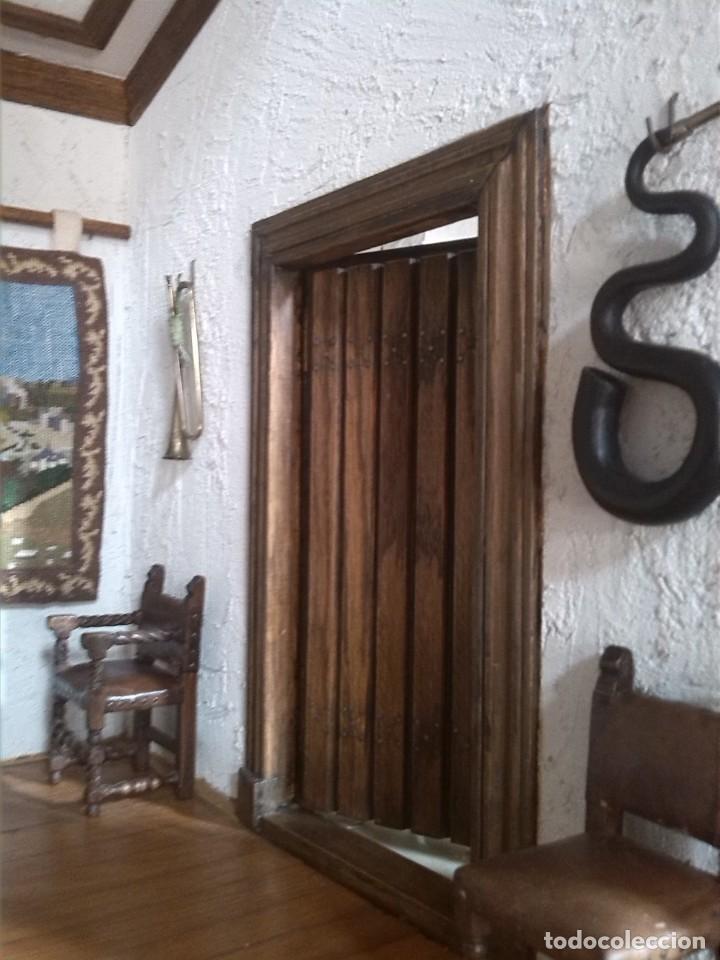 Casas de Muñecas: CASA DE MINIATURAS ESTILO RENACENTISTA - Foto 48 - 254268685