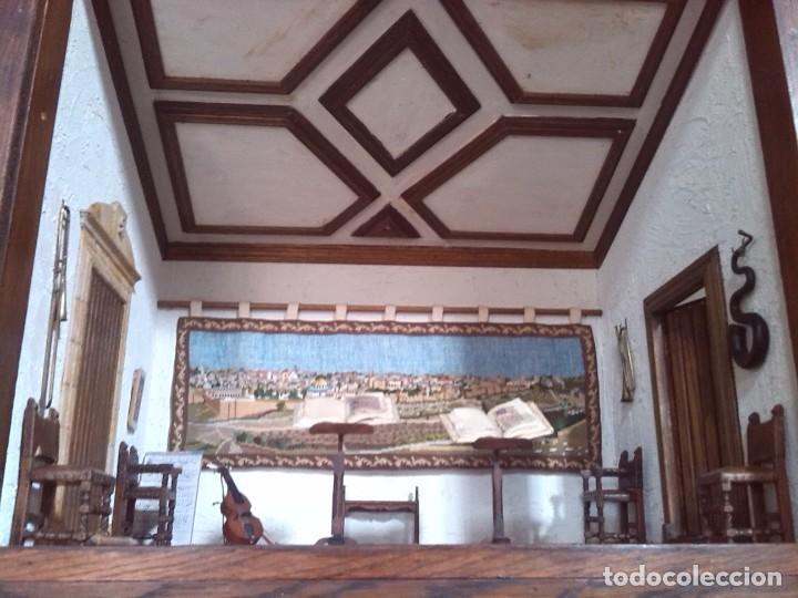 Casas de Muñecas: CASA DE MINIATURAS ESTILO RENACENTISTA - Foto 49 - 254268685