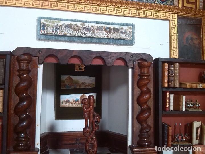 Casas de Muñecas: CASA DE MINIATURAS ESTILO RENACENTISTA - Foto 53 - 254268685