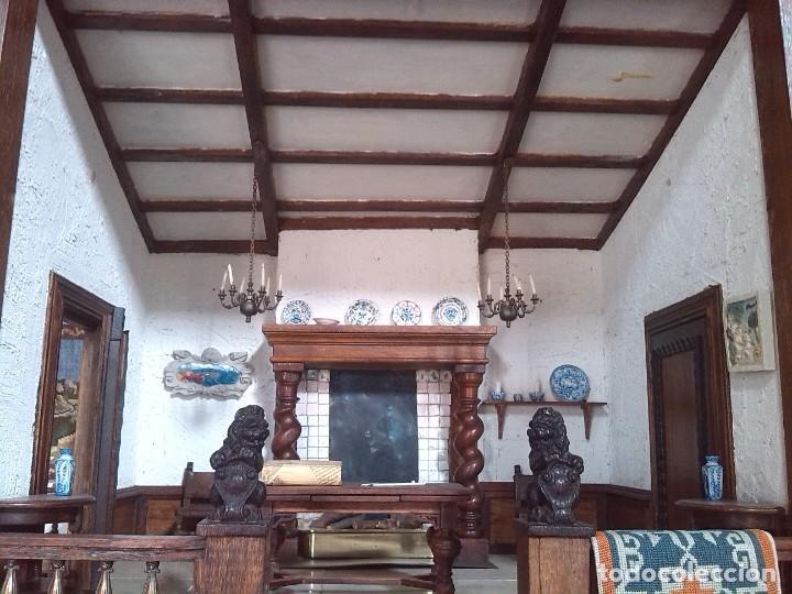 Casas de Muñecas: CASA DE MINIATURAS ESTILO RENACENTISTA - Foto 55 - 254268685