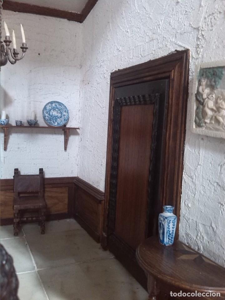 Casas de Muñecas: CASA DE MINIATURAS ESTILO RENACENTISTA - Foto 56 - 254268685