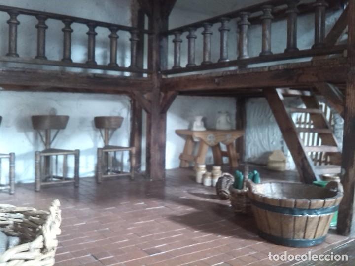 Casas de Muñecas: CASA DE MINIATURAS ESTILO RENACENTISTA - Foto 58 - 254268685
