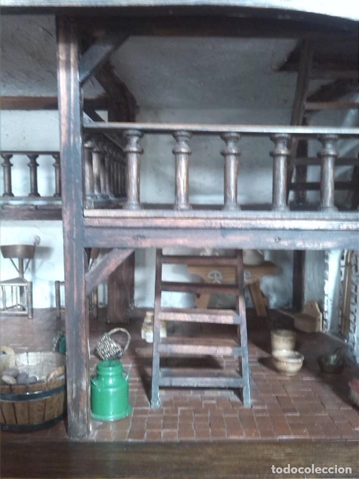 Casas de Muñecas: CASA DE MINIATURAS ESTILO RENACENTISTA - Foto 59 - 254268685