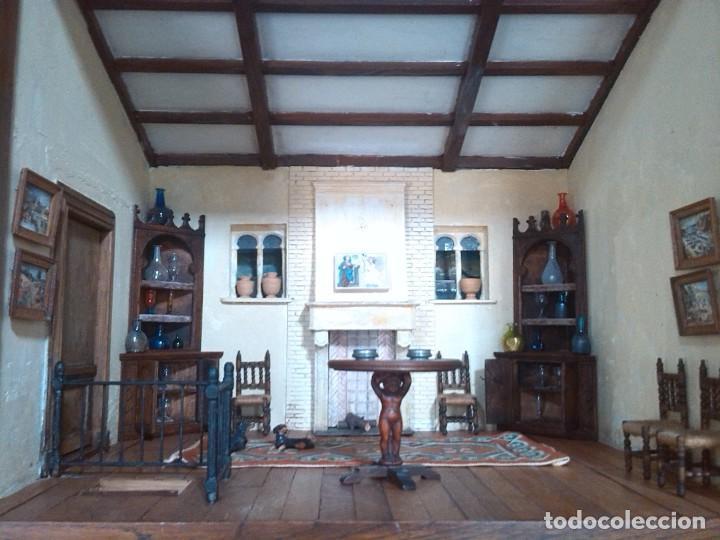 Casas de Muñecas: CASA DE MINIATURAS ESTILO RENACENTISTA - Foto 61 - 254268685