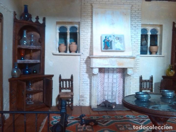 Casas de Muñecas: CASA DE MINIATURAS ESTILO RENACENTISTA - Foto 62 - 254268685
