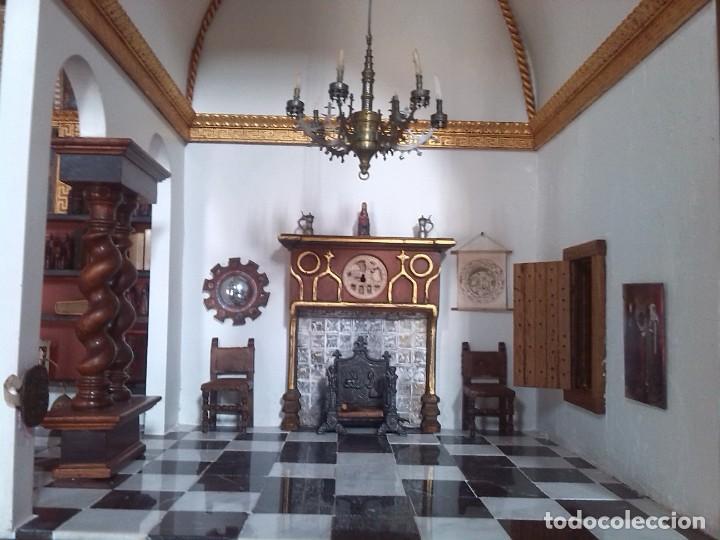 Casas de Muñecas: CASA DE MINIATURAS ESTILO RENACENTISTA - Foto 64 - 254268685