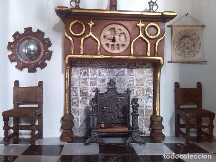 Casas de Muñecas: CASA DE MINIATURAS ESTILO RENACENTISTA - Foto 65 - 254268685