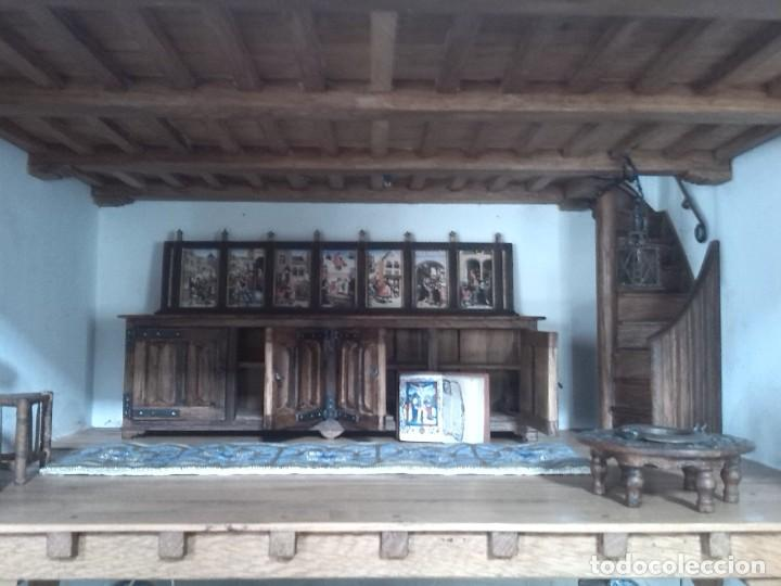 Casas de Muñecas: CASA DE MINIATURAS ESTILO RENACENTISTA - Foto 70 - 254268685