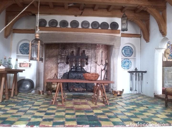 Casas de Muñecas: CASA DE MINIATURAS ESTILO RENACENTISTA - Foto 72 - 254268685