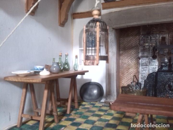 Casas de Muñecas: CASA DE MINIATURAS ESTILO RENACENTISTA - Foto 73 - 254268685