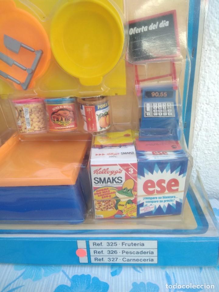 Casas de Muñecas: Antiguo supermercado eureka años 80 con comiditas de la epoca, fabricado en españa - Foto 2 - 256128285