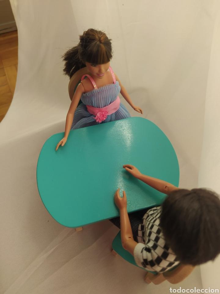 Casas de Muñecas: Mesa y sillas De madera de casa de muñecas - Foto 6 - 264084160