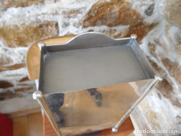 Casas de Muñecas: Conjunto para casa de muñecas o similar metal niquelado años 20 - Foto 11 - 264453939