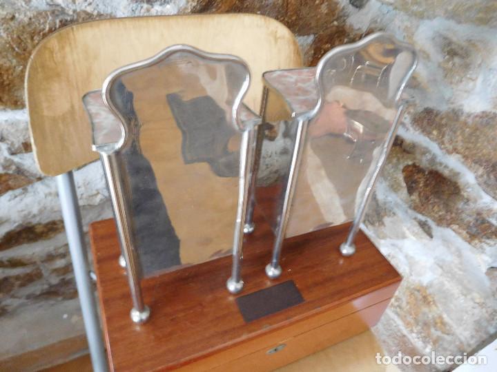 Casas de Muñecas: Conjunto para casa de muñecas o similar metal niquelado años 20 - Foto 18 - 264453939