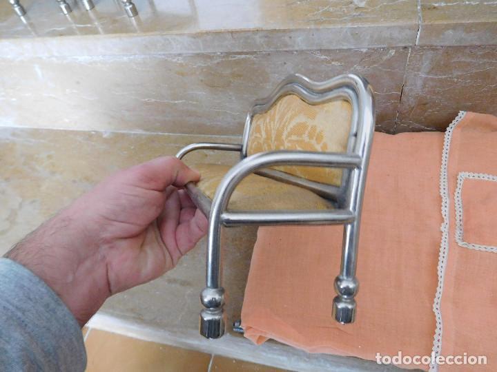 Casas de Muñecas: Conjunto para casa de muñecas o similar metal niquelado años 20 - Foto 35 - 264453939