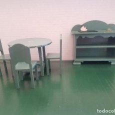 Casas de Muñecas: MUEBLES MADERA EN MINIATURA DEL FAMOSO ARTESANO ALICANTINO PEDRO ROMAN GARCIA. Lote 266705208