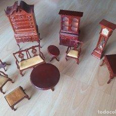 Case di Bambole: MUEBLES PARA MUÑECAS MOBISTYL SALITA DE ESTAR AÑOS 70 Y 80. Lote 284413678