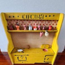 Case di Bambole: COCINA DE DENIA AÑOS 40/50.. Lote 285063473