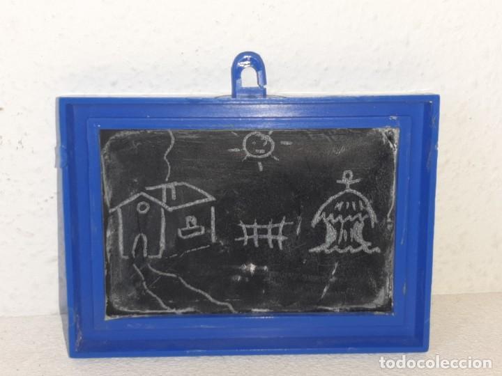 Casas de Muñecas: FAMILIA HOGARIN : ANTIGUA PIZARRA ACCESORIO HABITACION NIÑOS REF. 216 - MODISA AÑOS 70 - Foto 7 - 287985893
